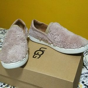 UGG Slip-on fuzzy shoes